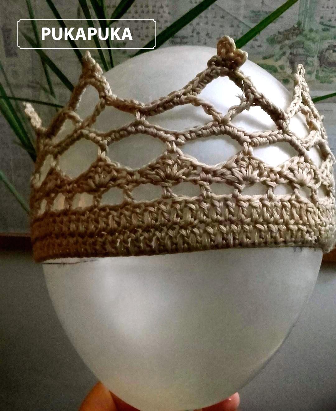 formowanie korony na baloniku